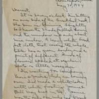 1944-05-30 Laura Davis to Lloyd Davis Page 1