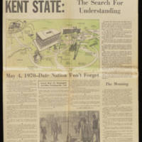 1970-05-24 Akron Beacon Journal Article: Kent State: The Search For Understanding Page 1