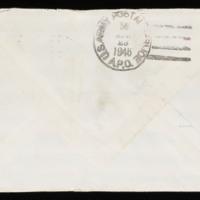 1946-03-08 Evelyn Burton to Carroll Steinbeck - Envelope back