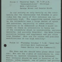 1971-09-30 'The Eco-Nomics of Ecology in Iowa City'