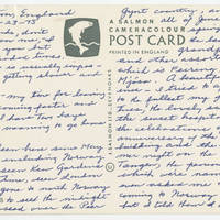 1975-07-23 Postcard and letter from May Tangen to Mr. and Mrs. John Stanley Page 2