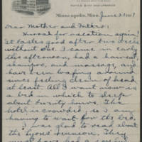 1917-06-23 Conger Reynolds to Mr. & Mrs. John Reynolds Page 1
