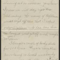 Thomas Messenger to Mrs. N.H. Messenger Page 4