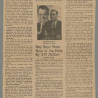 1968-11-02 Article: 'SDS Ignores Warnings, Holds Anti-Code Rally' Page 1