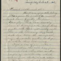 1918-02-28 Thomas Messenger to Mr. & Mrs. N.H. Messenger Page 1