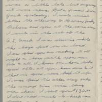 1943-10-03 Lloyd Davis to Laura Davis Page 2