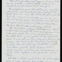 Carroll Steinbeck to Alfred and Vira Steinbeck Page 1