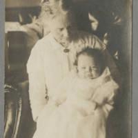 Jack Hyde with Grandma Hudnutt