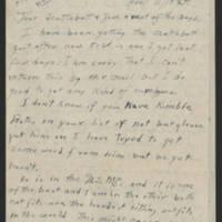 1945-04-11 Cpl. Jack D. Longer to Dave Elder Page 1