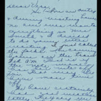1945-11-05 Evelyn Burton to Vera Steinbeck Page 1