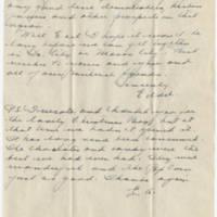 1945-02-17 Maj. Eddie Anderson to Earl Hall Page 3