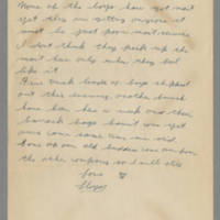 1942-10-21 Lloyd Davis to Laura Davis Page 2
