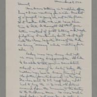 1942-12-28 Laura Davis to Lloyd Davis Page 1