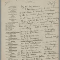 1918-01-09 Cora C. Whitley to Mr. Maurer