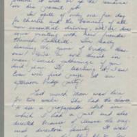 1943-06-10 Bessie Rector to Laura Frances Davis Page 2