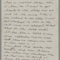1945-07-10 Lloyd Davis to Laura Davis Page 2