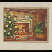Christmas Card from Carroll Steinbeck to his family