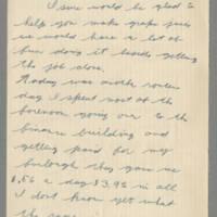 1942-09-12 Lloyd Davis to Laura Davis Page 1