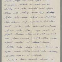 1942-01-15 Lloyd Davis to Laura Davis Page 2