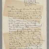 1942-07-27 Laura Davis to Lloyd Davis Page 1