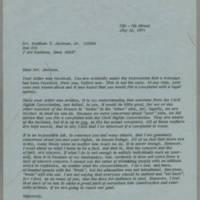 1971-07-12 Miss Virginia Harper to Mr. Matthew T. Jackson, Jr. Page 1