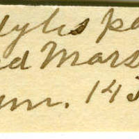 Clinton Mellen Jones, egg card # 691