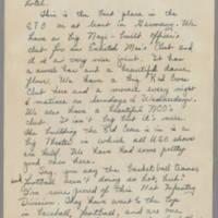 1946-01-20 Cpl. Richard T. Harvey to Dave Elder Page 3