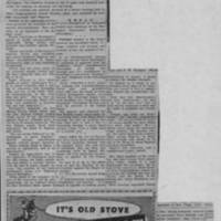 "1951-10-30 Burlington Hawkeye Gazette Article: ""Burlington Self-Survey Committee Lists Findings"""