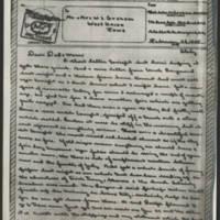 1945-02-23 John W. Graham to Mr. & Mrs. W.J. Graham Page 1