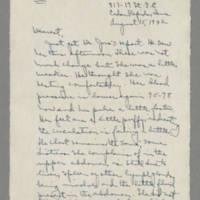 1942-08-15 Laura Davis to Lloyd Davis Page 1