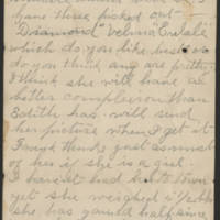 1897-10-18 Letter from Millie Huff Page 2