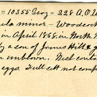 Clinton Mellen Jones, egg card # 541