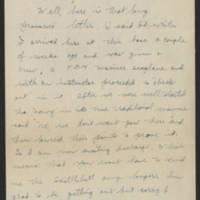 1945-11-07 Lt. John Gardner to Dave Elder Page 1