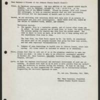 1971-10-11 Correspondence from Mrs. Mary Conatser
