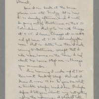 1942-11-24 Laura Davis to Lloyd Davis Page 1