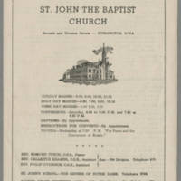 1947-10-26 Bulletin: St. John The Baptist Church Page 1
