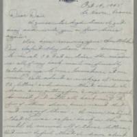 1945-10-14 Pfc. Eddie Prebyl, Jr. to Dave Edler Page 1