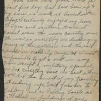 1919-02-22 Harvey Wertz to Mr. L.A. Wertz Page 1