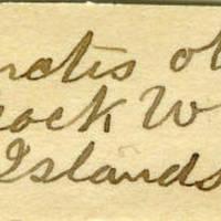 Clinton Mellen Jones, egg card # 711