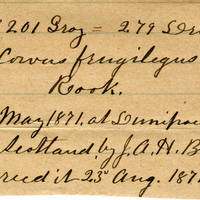 Clinton Mellen Jones, egg card # 535