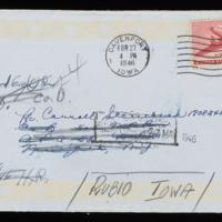 1946-02-24 Evelyn Burton to Carroll Steinbeck - Envelope