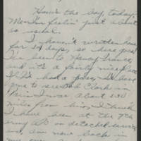 1945-05-22 Pfc. Roger Banks to Dave Elder Page 1