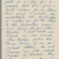 1943-04-05 Bessie Rector to Laura Frances Davis Page 2