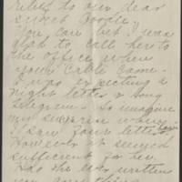 1918-03-29 Trix B. Croft to Conger Reynolds Page 2
