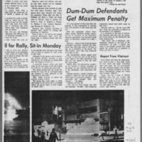 "1971-05-08 Daily Iowan Article: """"Explosion Shakes Iowa City Civic Center"""" Page 4"