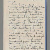 1942-09-08 Laura Davis to Lloyd Davis Page 1