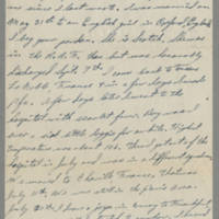 1945-09-21 Pfc. Robert L. Clark to Dave Elder Page 1