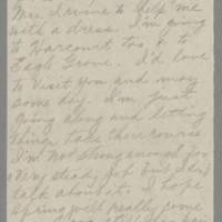 1943-03-26 Aunt Bess to Laura Frances Davis Page 2