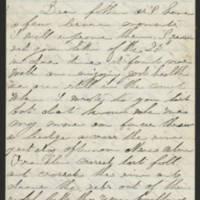 1863-06-06 Charles A. Gates to Mr. Arad Gates Page 1