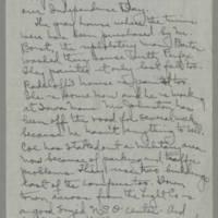 1943-06-10 Laura Davis to Lloyd Davis Page 6